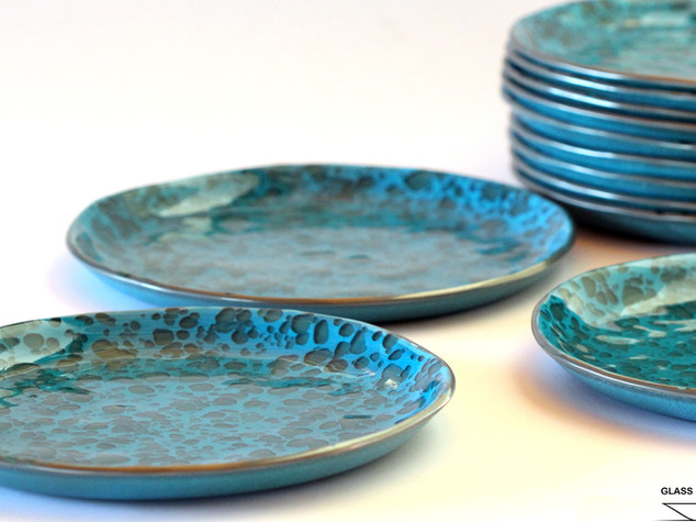 BLUE MOON, Glass dishes
