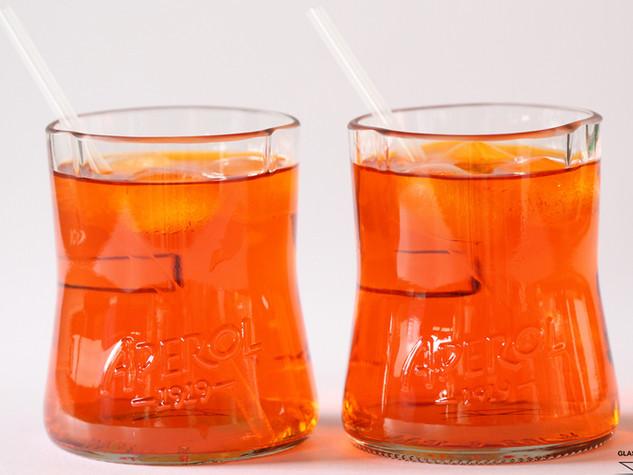 Aperol Spritz glasses