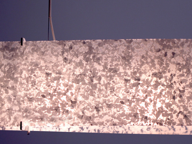 BIG FISH, modern ceiling lamp made with Murano Glass
