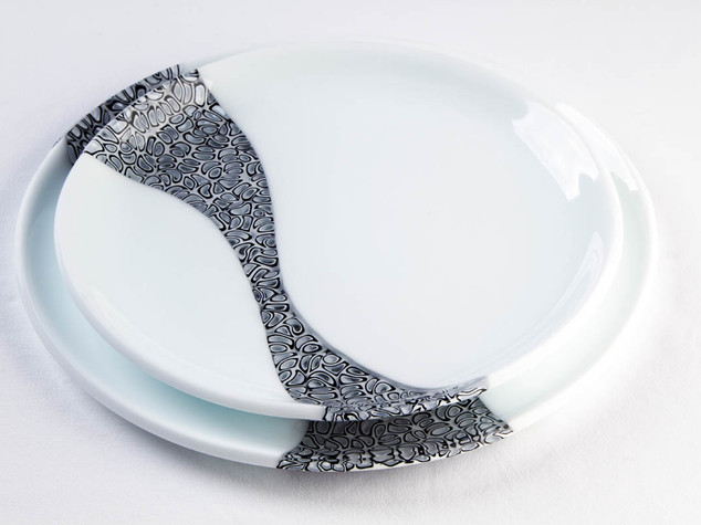 SWEET WAVE, Glass dishes