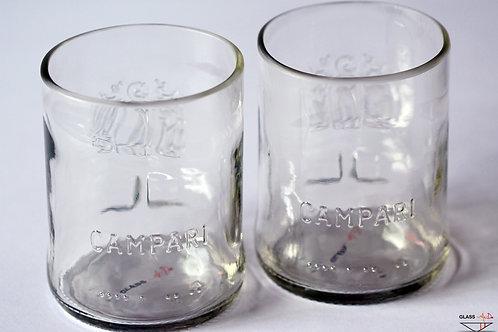Pair of Campari glasses