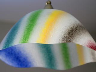 COPO DE LEITE, modern ceiling lamp made with Murano Glass