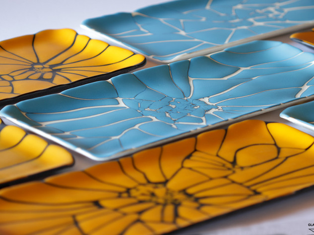 COLOR CRASH, Glass dishes