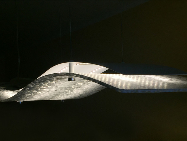 ARRAIA, modern ceiling lamp made with Murano Glass