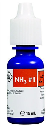Nutrafin Ammonia Fresh and Saltwater Reagent #1 Refill - 15 ml