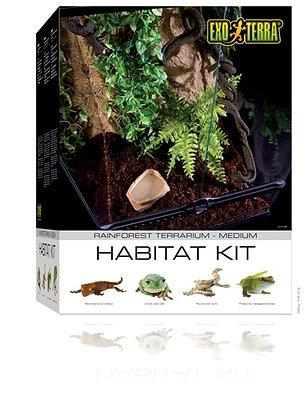 Exo Terra Habitat Kit Rainforest Medium