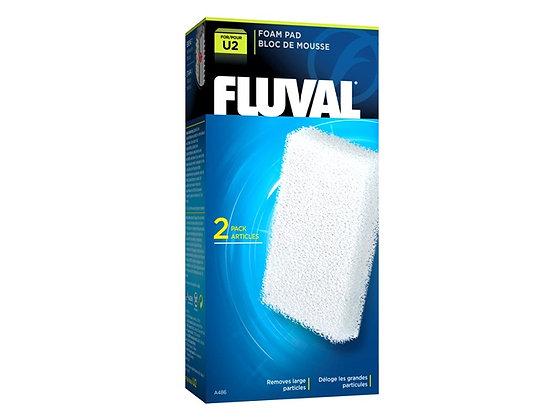 "Fluval ""U2"" Foam Pad - 2 pack"