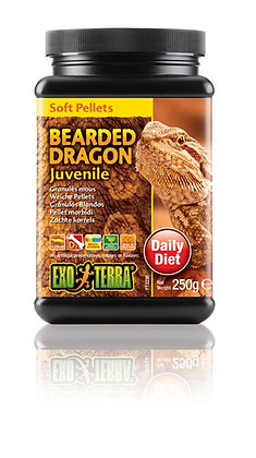 Exo Terra Bearded Dragon Soft Pellets - Juvenile