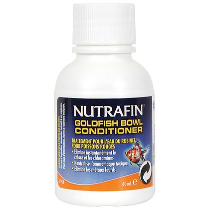 Nutrafin Goldfish Bowl Conditioner - Tap Water Conditioner for Goldfish - 60 mL
