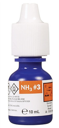 Nutrafin Ammonia Fresh and Saltwater Reagent #3 Refill - 10 ml