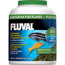 Fluval vegetarian flake food