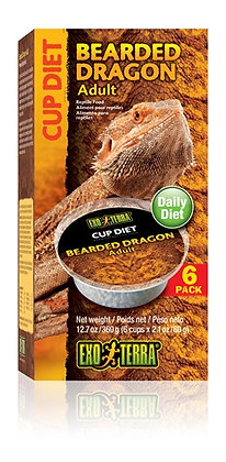 Exo Terra Bearded Dragon Cup Diet Adult