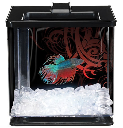 Marina Betta Special Edition EZ Care Aquarium - Black