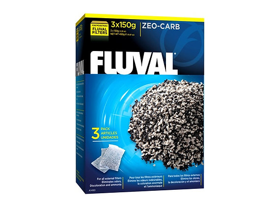 Fluval Zeo-Carb - 3 x 150 g