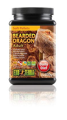 Exo Terra Bearded Dragon Soft Pellets - Adult