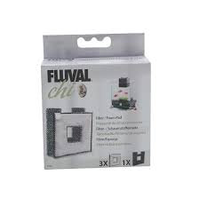 Fluval Chi filter and foam
