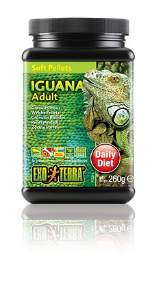 Exo Terra Iguana Soft Pellets Adult
