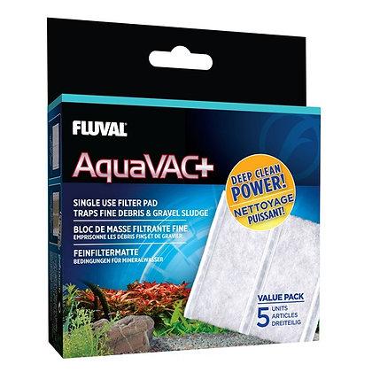 Fluval Aquavac+ Replacement Fine Filter Pad (5 Pack)