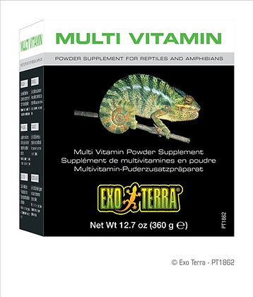 Exo Terra Multi Vitamin Powder Supplement