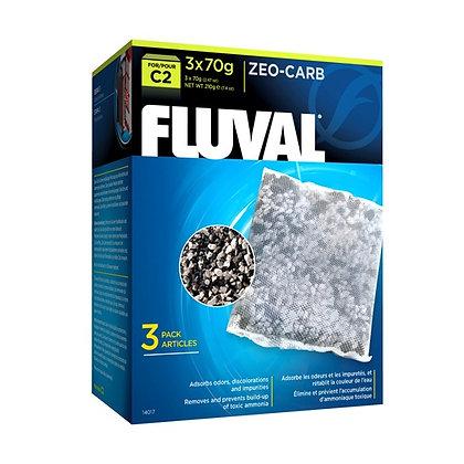 Fluval C2 Zeo-Carb - 3 pack