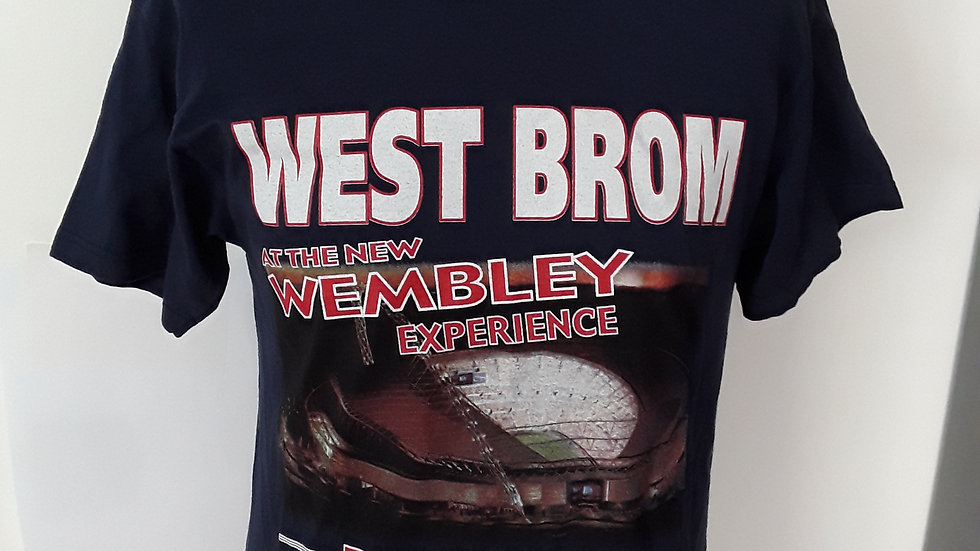 West Brom Play off final T Shirt 2007 M