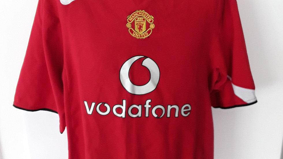 Manchester United Home Shirt 2004. XXL