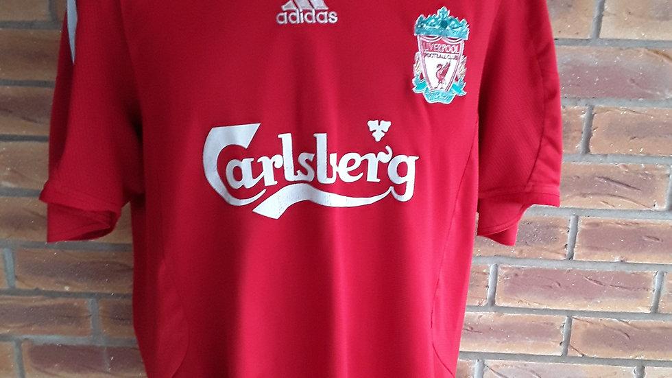 Vintage Liverpool Home Shirt 2008