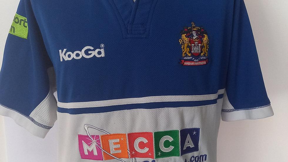 Wigan Warriors Away Shirt 2009. L