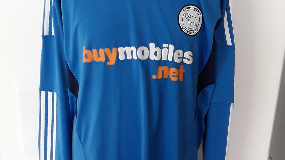 Derby County Goalkeeper Shirt. XL
