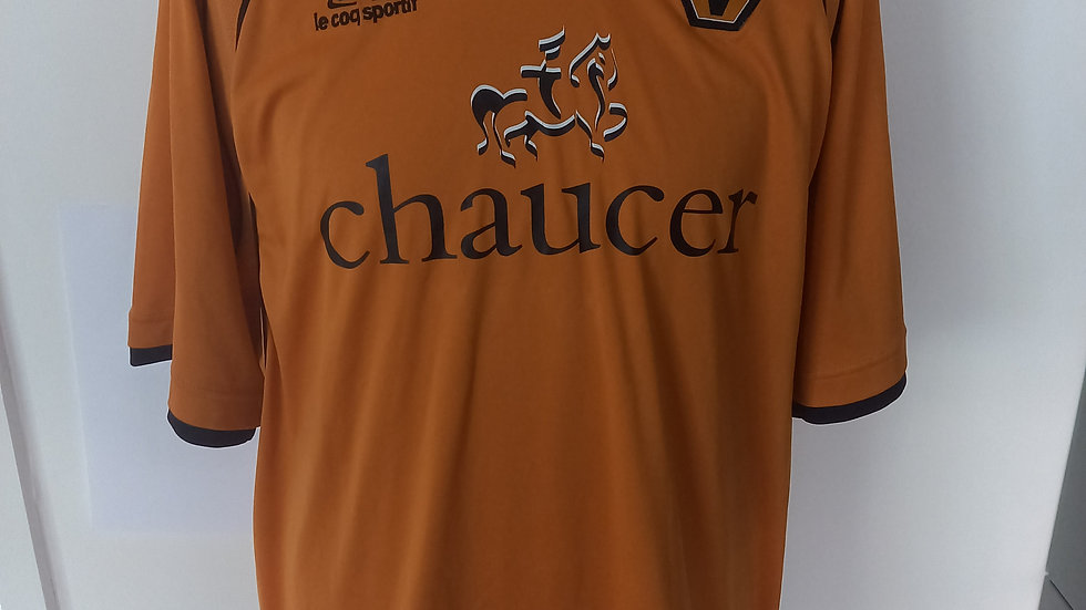 Wolves Home Shirt 2006. L