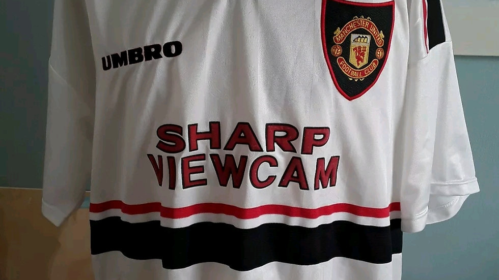 Original Manchester United Away Shirt 1997