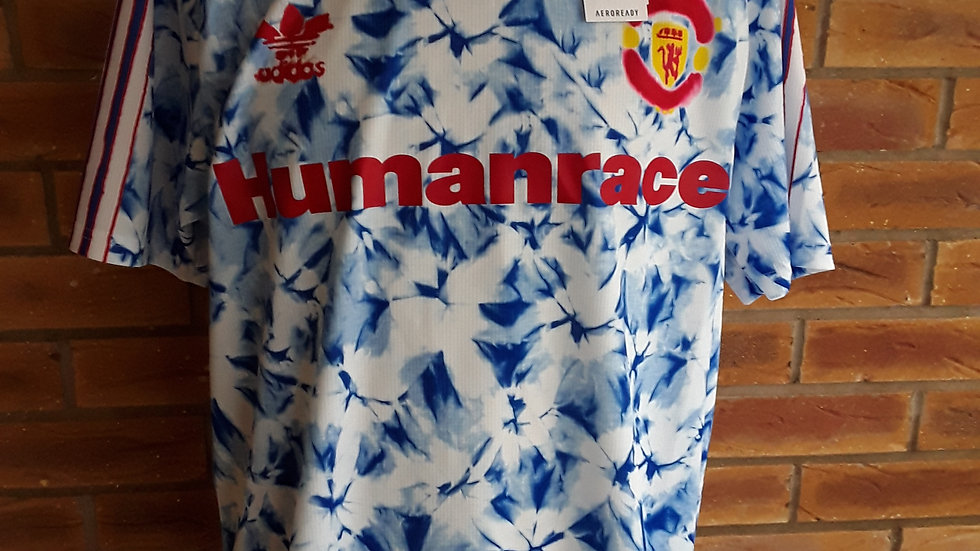 Manchester United Shirt Human Race Genuine