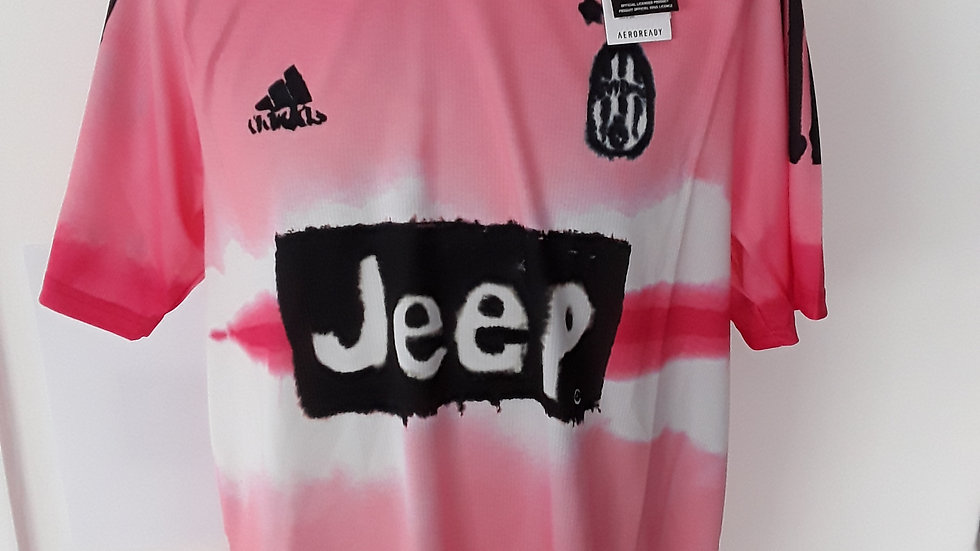 Official Juventus Humanrace shirt. Large