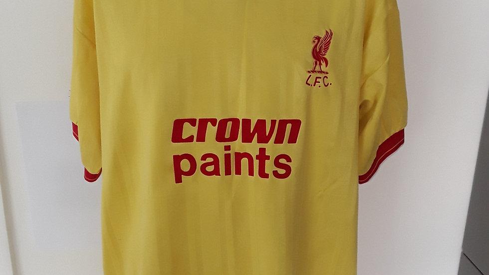 Vintage Liverpool Away Shirt. XL