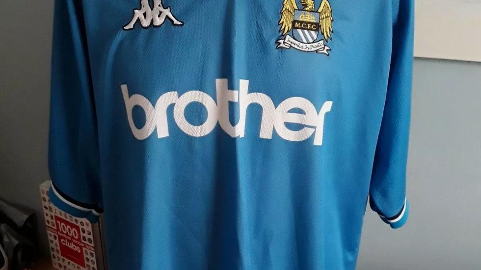 Manchester City Home Shirt Original 1998/99