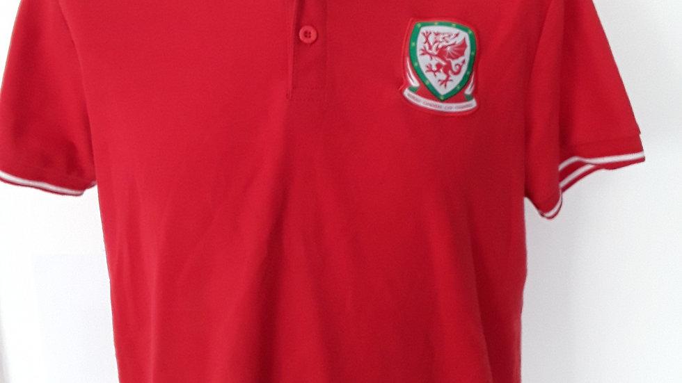FA Wales Polo Shirt. S