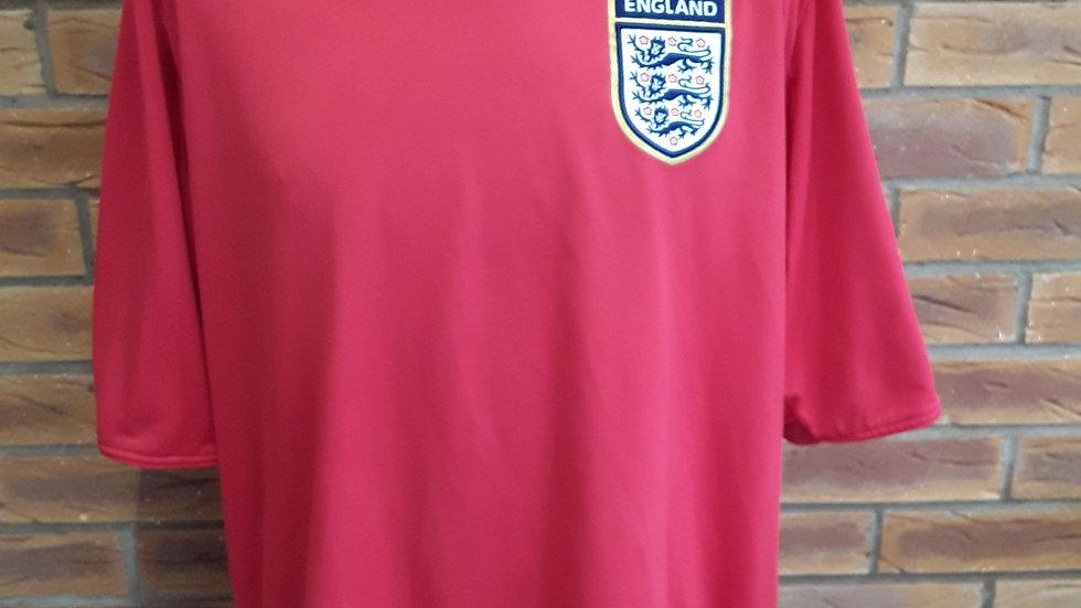 England away Shirt 2005 XXL mens