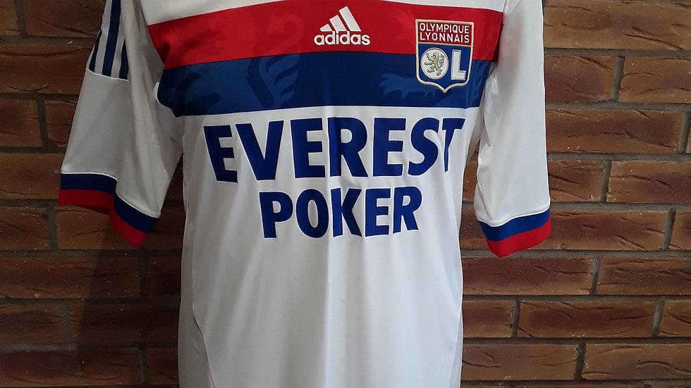 Olymipique Lyonnais Lyon Player Issue Shirt