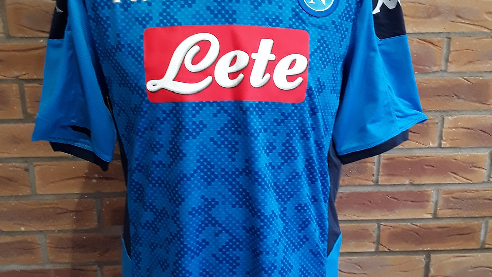 Napoli Home Shirt Brand New With Tags XL Skin Fit