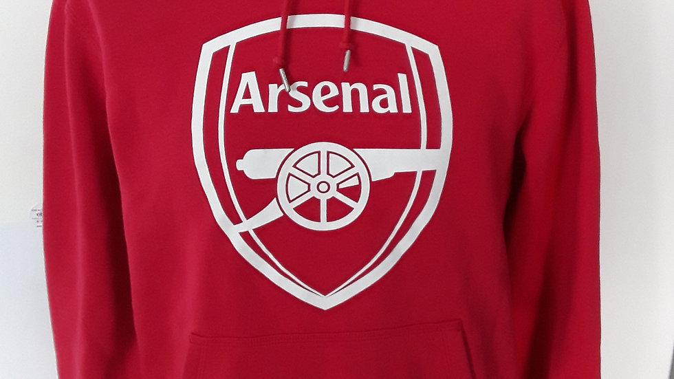 Arsenal FC Sweatshirt Hoodie. M
