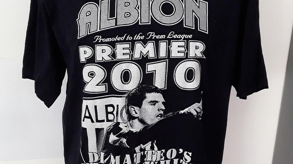 West Bromwich Albion 2010/11 Promotion TShirt M