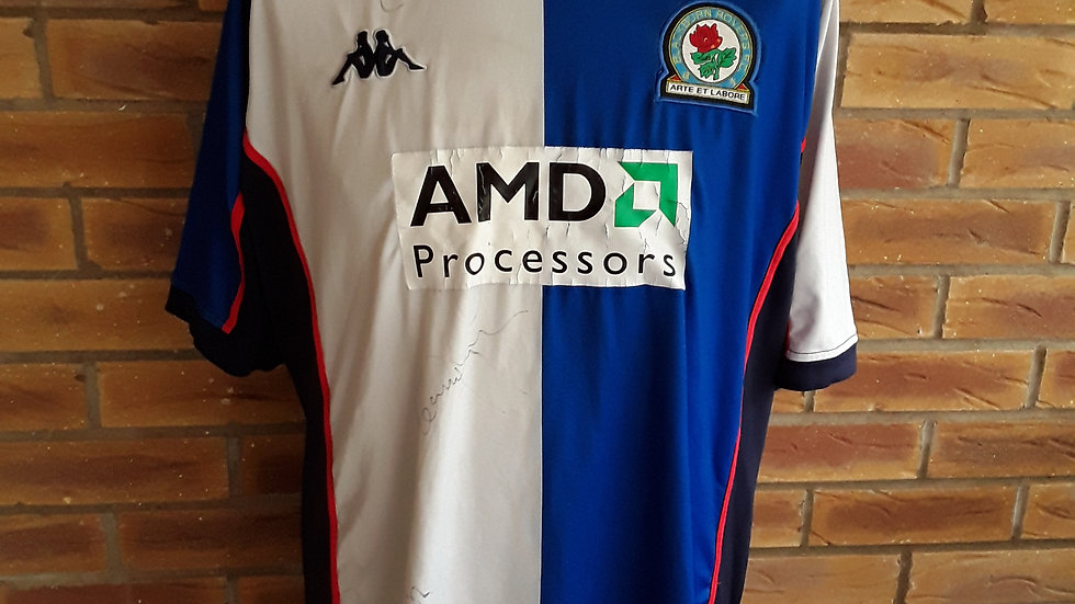 Blackburn Rovers Signed Shirt XL