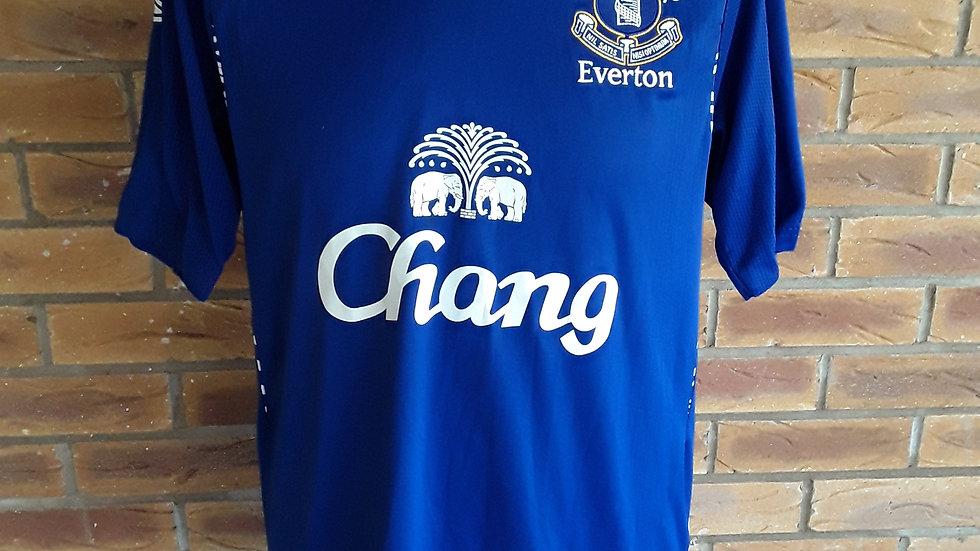 Everton Home Shirt 2007