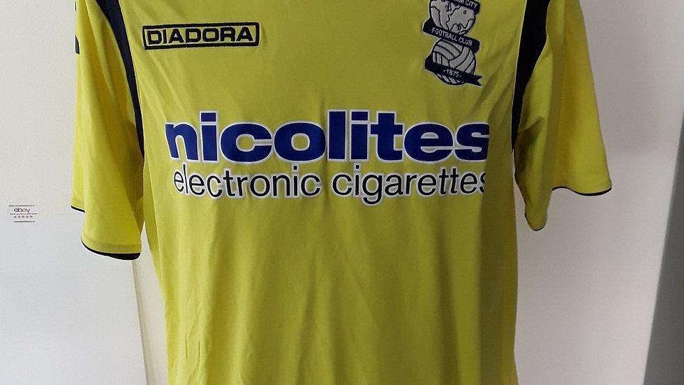Birmingham City Away Shirt 2013. S