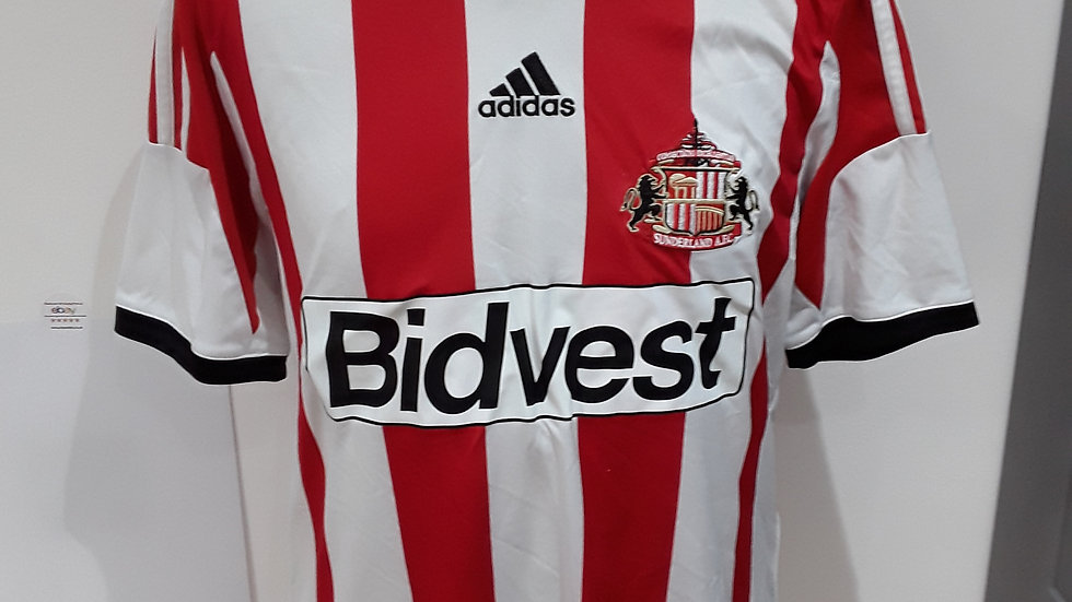 Sunderland Home Shirt 2013. M