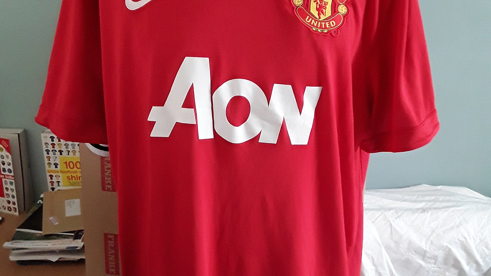 Manchester United Home Shirt 2011
