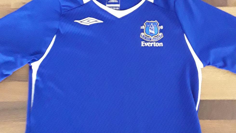 Everton FC Home Shirt 6/7 years.