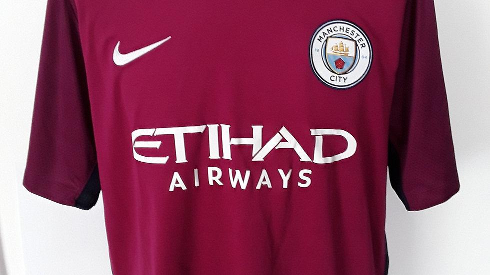Manchester City Away Shirt. XL 2017