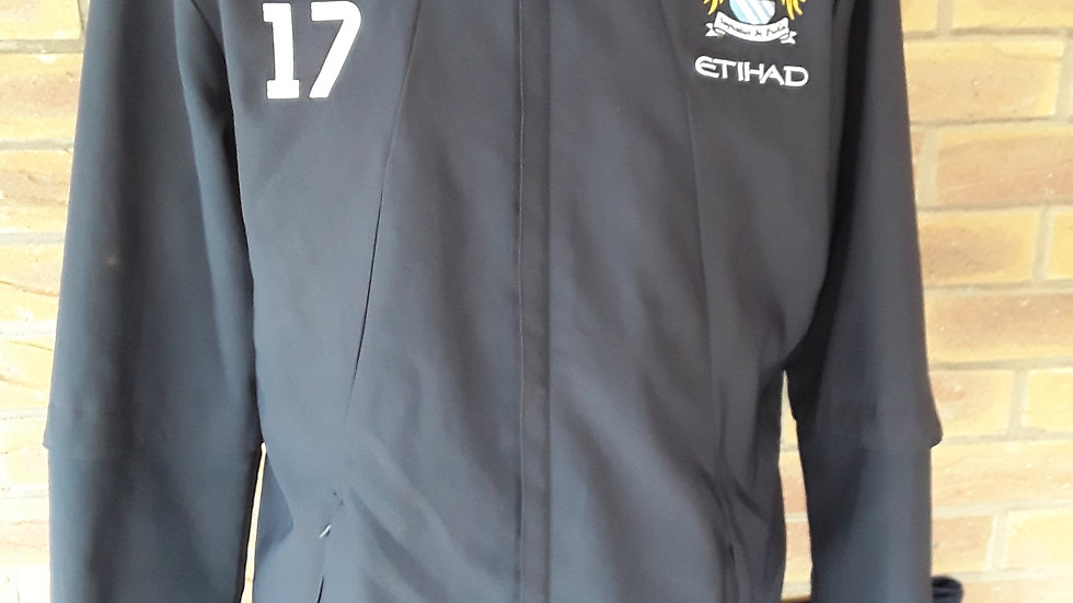 Squad issued Manchester City Jacket #17