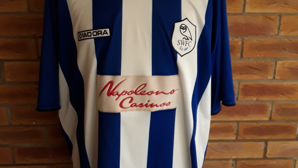 Sheffield Wednesday Home Shirt